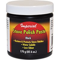 IMPERIAL MFG GROUP USA INC 6-oz. Black Stove Polish Paste - Stove Polish