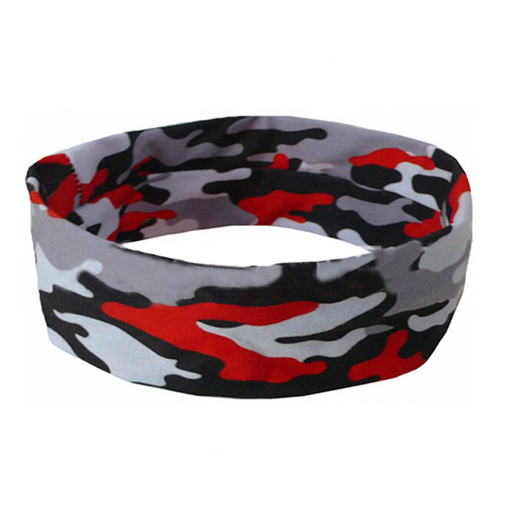 Outtop Women Men Sport Sweatband Headband Yoga Gym Stretch Head Band Hairband