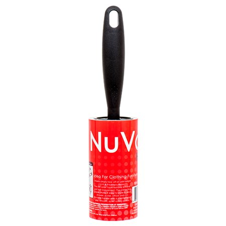New 363728  Nuvalu Lint Roller Black Handle 50 Sheets 10Cm (39-Pack) Laundry Accessories Cheap Wholesale Discount Bulk Household Laundry Accessories Boys - Discount Beads