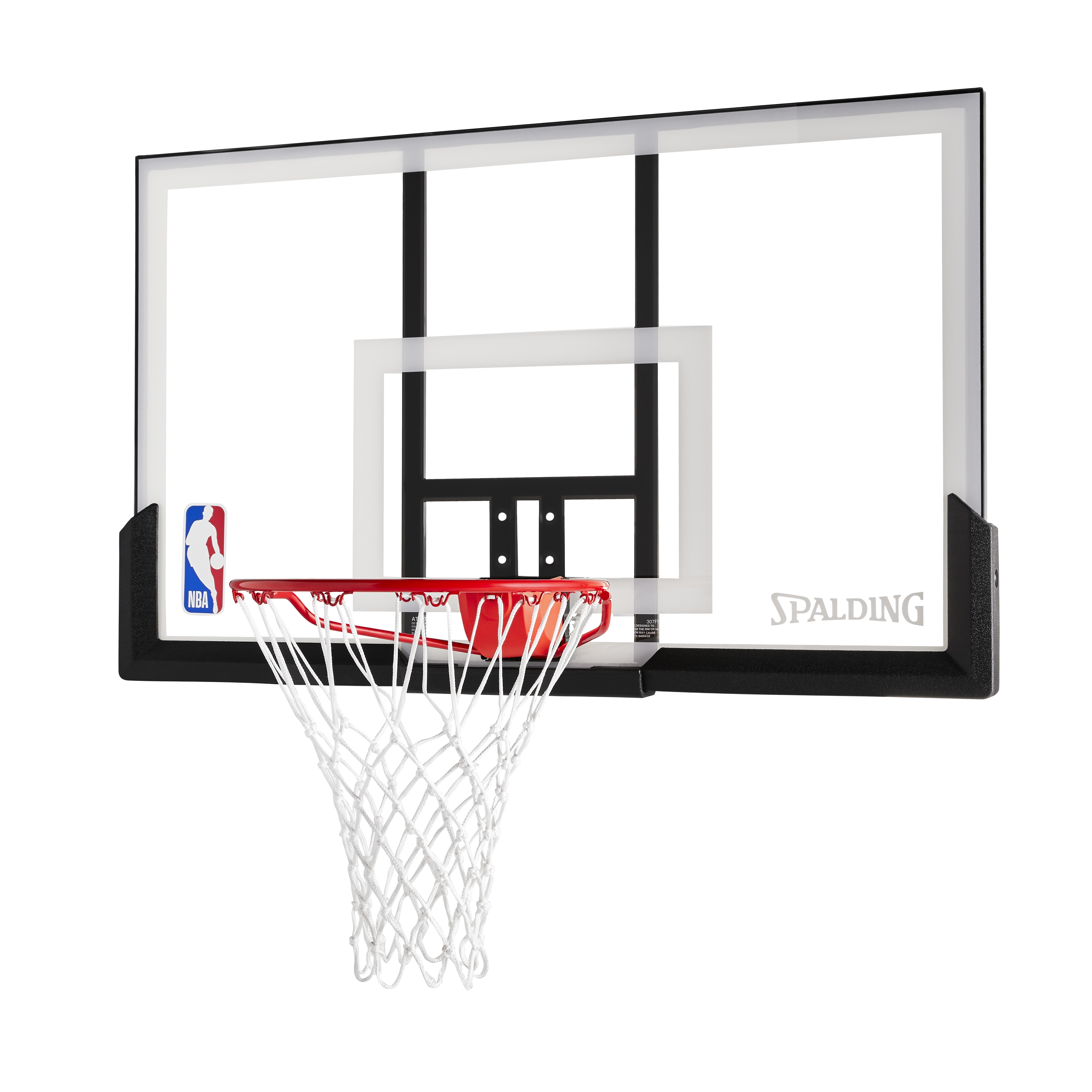 Sure Shot Team Action Basketball Ring and Backboard