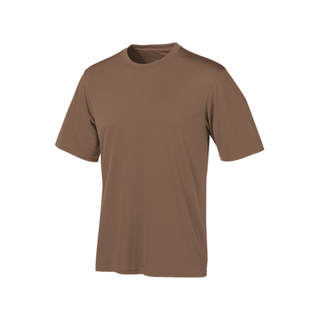 Champion Tactical TAC22 XL LN Men's Army Brown S/S Double Dry Tee - Size