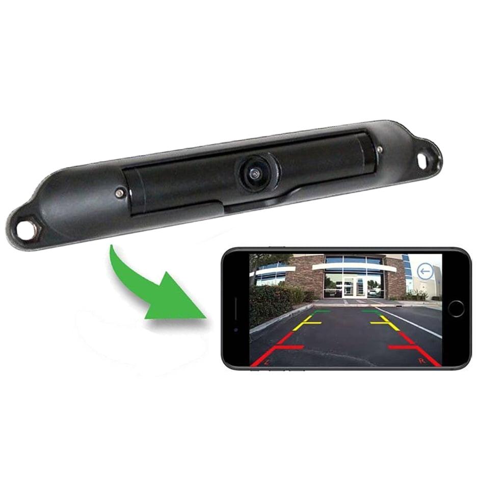Boyo VTL420RX WiFi App-Viewable License Plate Camera