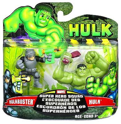Hulk & Hulk Buster Action Figure 2-Pack Marvel