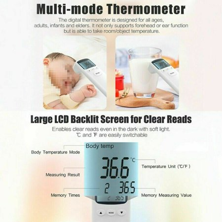 Baby Measuring Tool Kids Adult Thermometer - image 2 of 11
