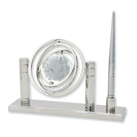 Crystal Globe Desktop (Crystal Globe Pen and Stand)