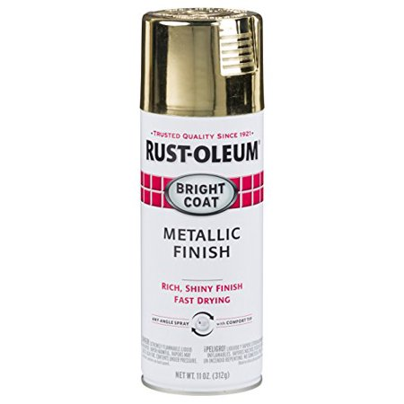 Rust-Oleum 7710830 Bright Coat Metallic Color Spray, Gold, 11-Ounce - image 3 de 3