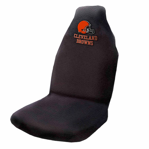 NFL Cleveland Browns Applique Seat Cover