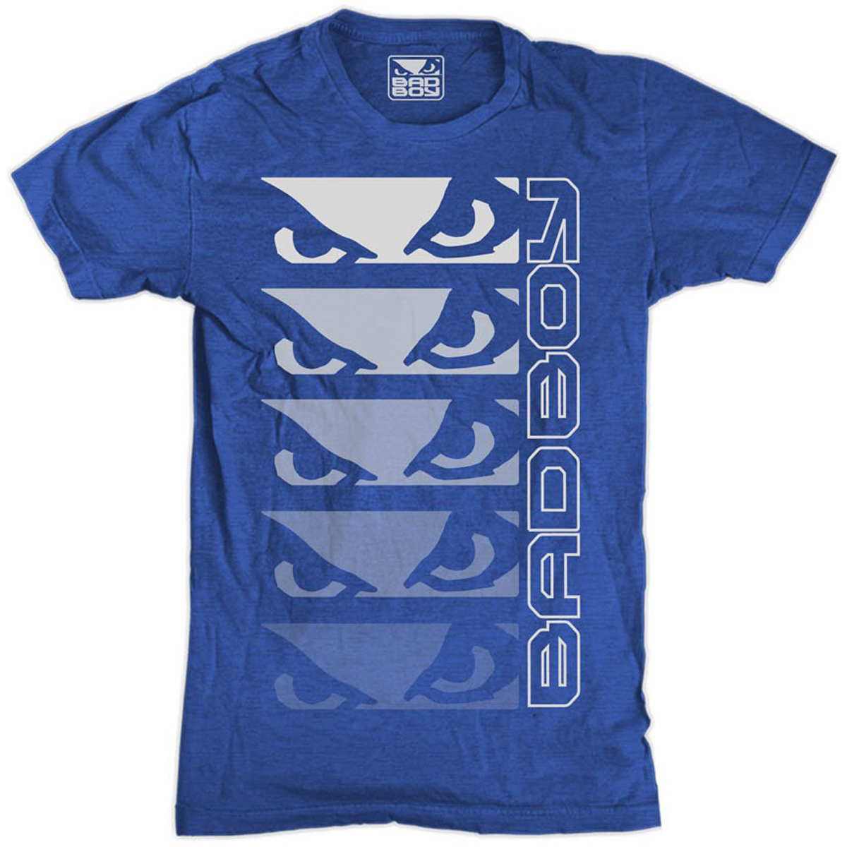 Bad Boy Youth Stacked Up T-Shirt - Blue