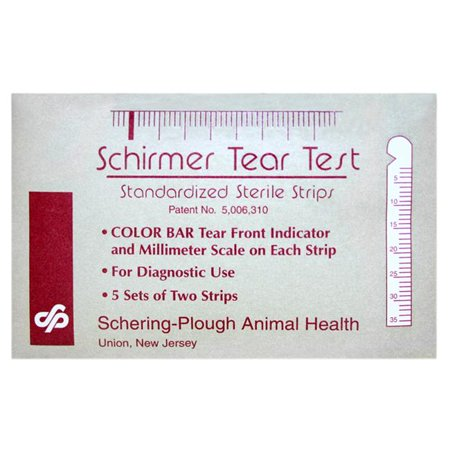 Pet Fulfillment 006sch 930015 Schirmer Tear Test 5 Sets Of