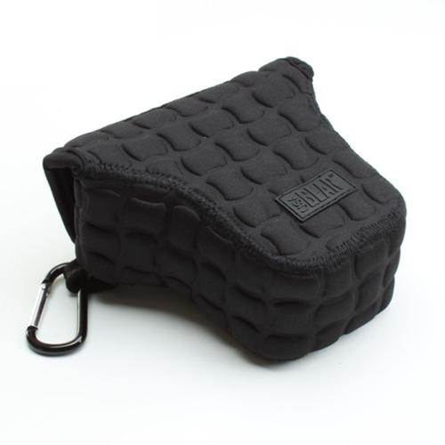 FlexARMOR X Compact Micro Four Thirds Camera & Select Attached Lens Case Sleeve - Works With Sony Alpha NEX-5T , Olympus PEN E-PL7 , Nikon 1 J5 , Panasonic DMC-GF7 and More Small Rangefinder Cameras