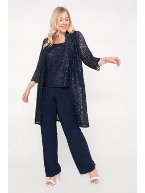 3be209224da Product Image R M Richards Plus Size Mother of the Bride Pant Suit Jacket