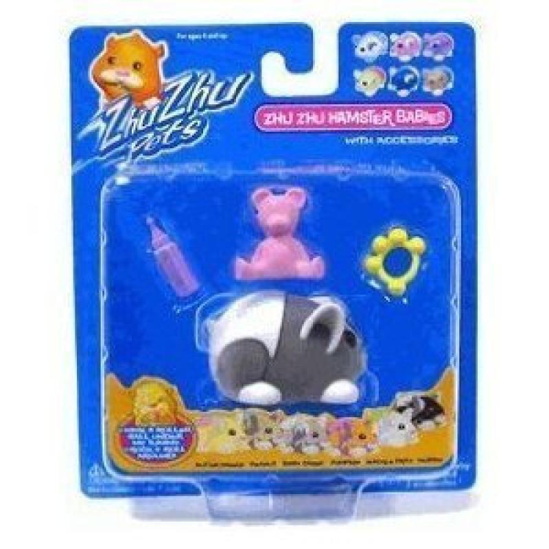 Zhu Zhu Pets Baby Hamster Toy, Muffin