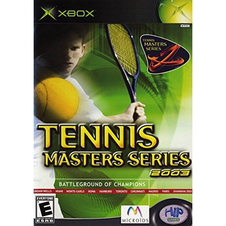 Tennis Masters Series 2003 - Battle Ground of Champions, Take on the worlds best players as you participate in the ATP's most prestigious.., By HIP Interactive Ship from (Best Xbox 369 Games)