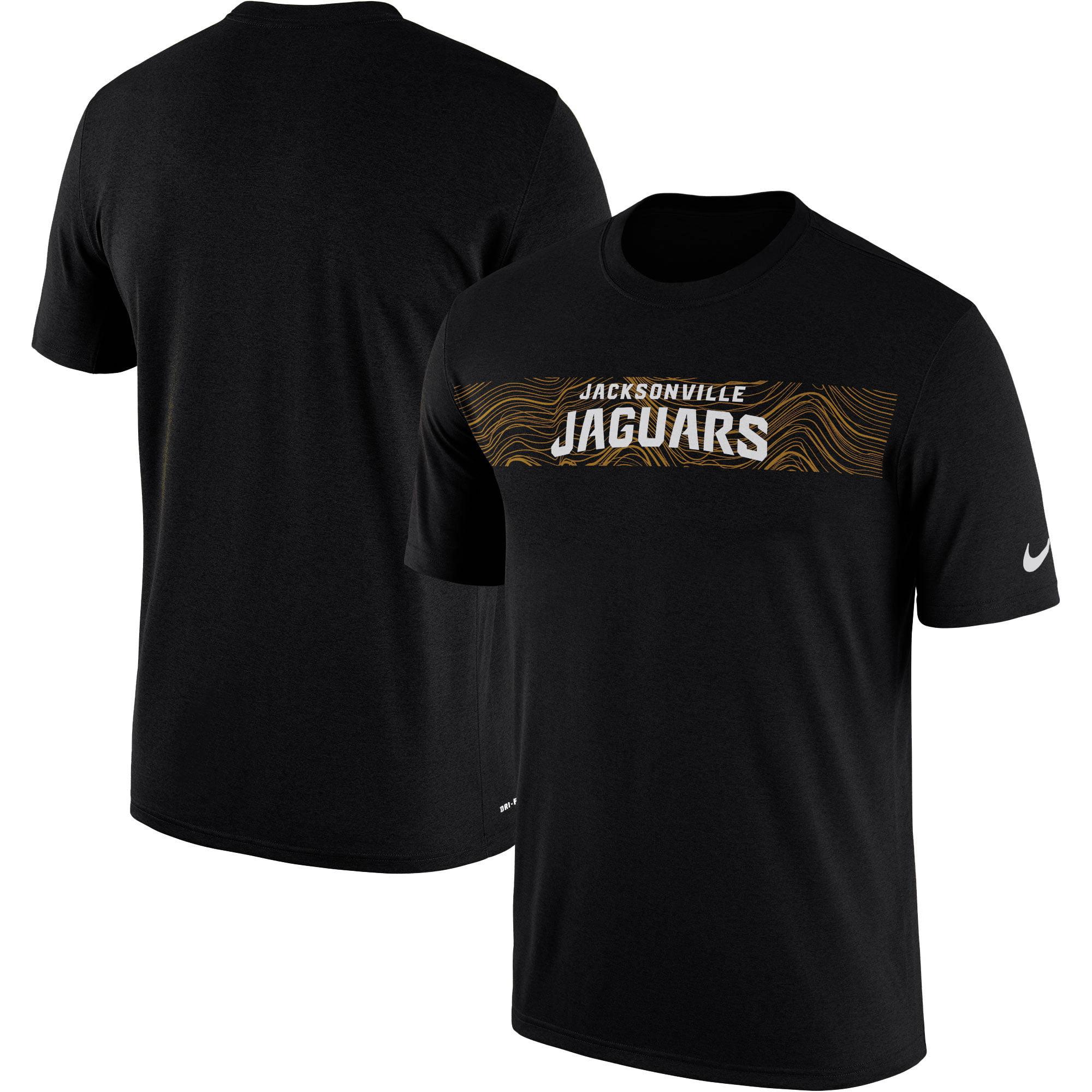 Jacksonville Jaguars Nike Sideline Seismic Legend Performance T-Shirt - Black