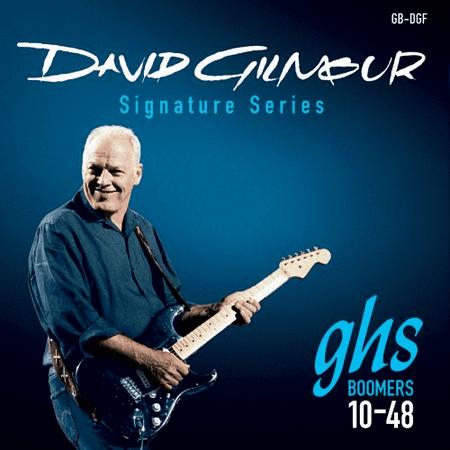David Crowder Guitar - GHS David Gilmour Signature Blue Set Guitar String