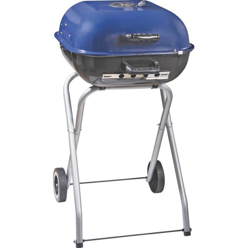 Omaha 18'' Portable Charcoal Grill with Foldable Legs