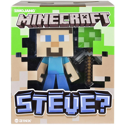 "Minecraft 6"" Vinyl Steve Figure by Spin Master Toys"