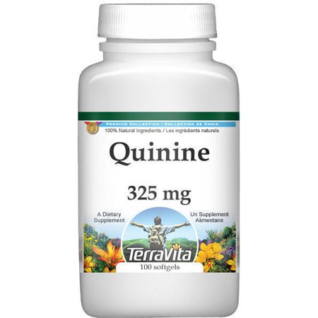 (Quinine Bark (Red Cinchona) - 325 mg (100 capsules, ZIN: 513868))