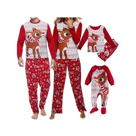 Christmas Family Matching Pyjamas Pajamas Set Xmas Santa Sleepwear Nightwear CA ()