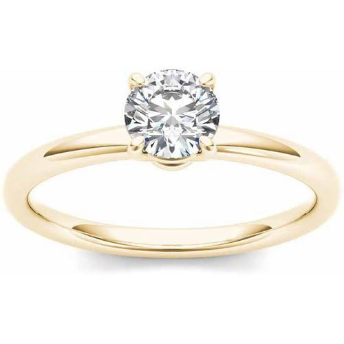 Imperial 3 4 Carat T.W. Diamond Solitaire 14kt Yellow Gold Engagement Ring by Imperial Jewels