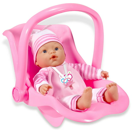 Loko Toys - Sweet Baby Doll With Car Seat Playset
