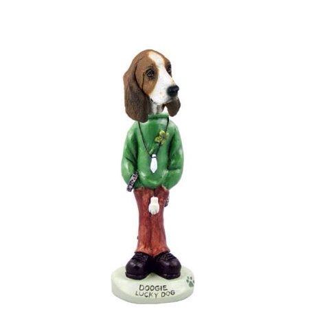No.Doog3716 Basset Hound Lucky Dog Doogie Collectable Figurine