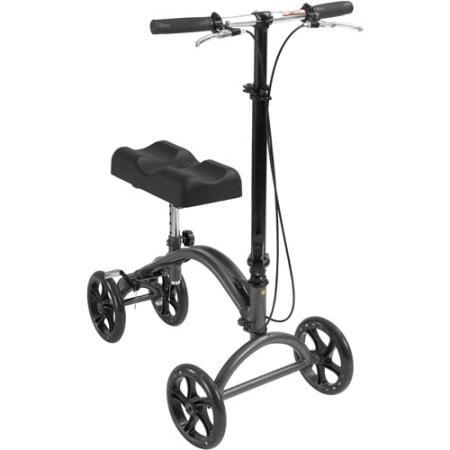Aluminum Steerable Knee Walker Crutch Alternative By Drive Medical