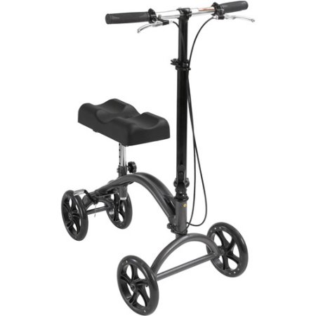 Aluminum Steerable Knee Walker Crutch Alternative by Drive Medical