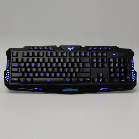 41c9543125f 3 Color Cool Led Illuminated Backlight Usb Wired Gaming Keyboard Waterproof  For Pc Laptop - image ...
