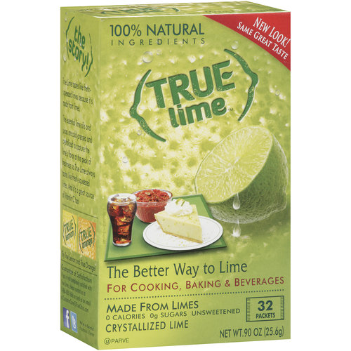 True Lime Crystallized Lime, 32 ct, 0.90 oz