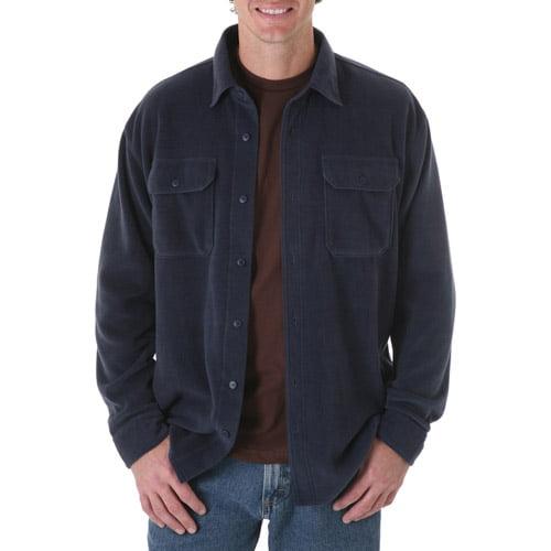 Wrangler Big Mens Long Sleeve Fleece Shirt