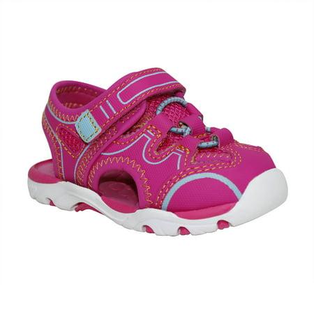 Girls' Pre-walk Sport Sandal (Rubber Girls Sandals)