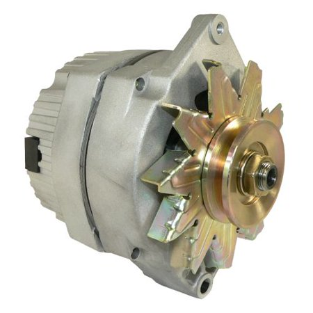 DB Electrical ADR0152 Alternator For 1 Wire Universal Self-Excited 10Si 10 Si 63 Amp / Internal Regulator / Negative Polarity / External Fan / 10459509, 90-01-3125, 90-01-3125S, 70-01-7127SE