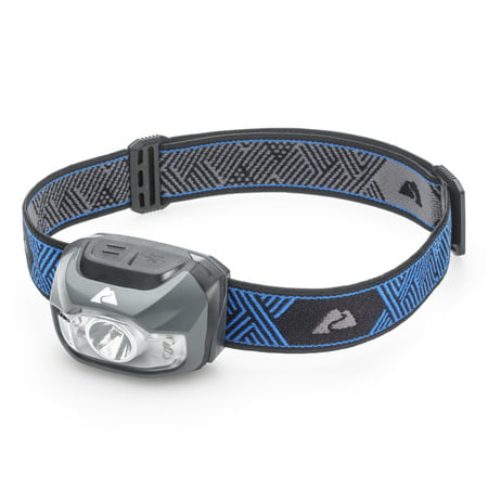 Ozark Trail 200 Lumen Multi-Color Camping Headlamp