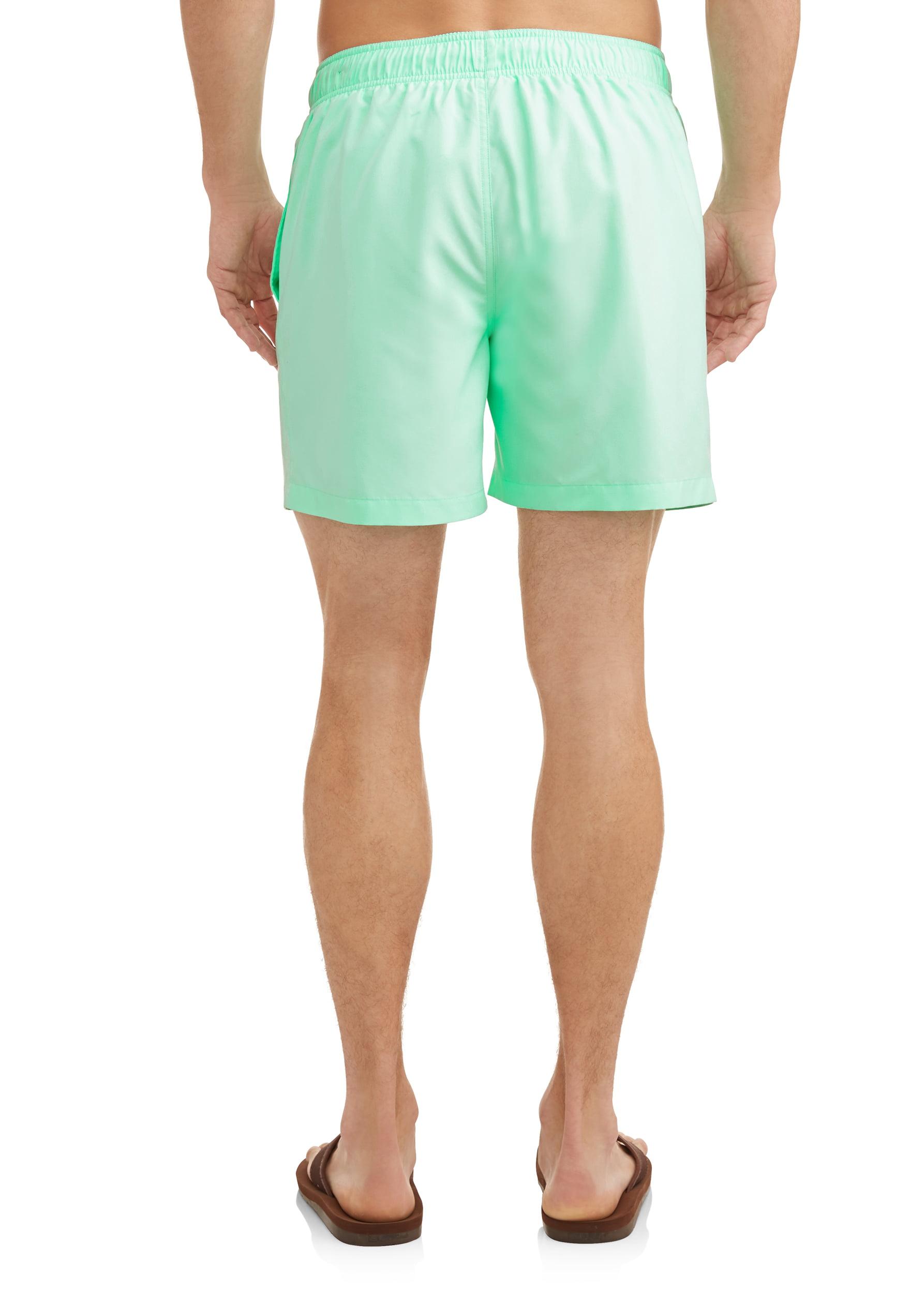 ce185bc531465 George - Men's Basic 6-inch Swim Short , up to size 5XL - Walmart.com