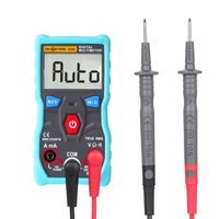 RICHMETERS RM403B Automatic Digital Multimeter 4000 Counts True-RMS Intelligent Auto Range Measurement NCV AC/DC Voltage Current Ohm Portable Test Tool with Backlight