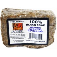 RA Cosmetics Honey & Shea Butter 100% Black Soap