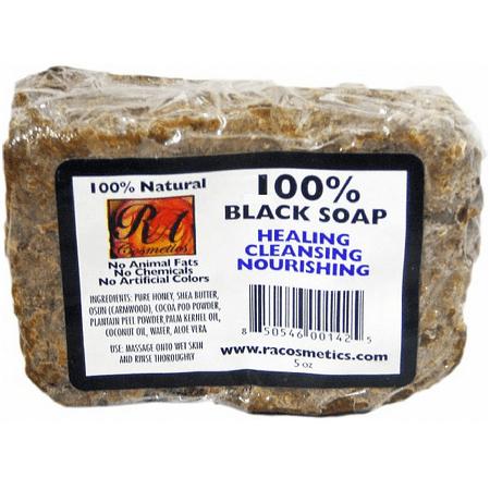 100% Natural Black Soap (Jason Natural Cosmetics Satin Soap)