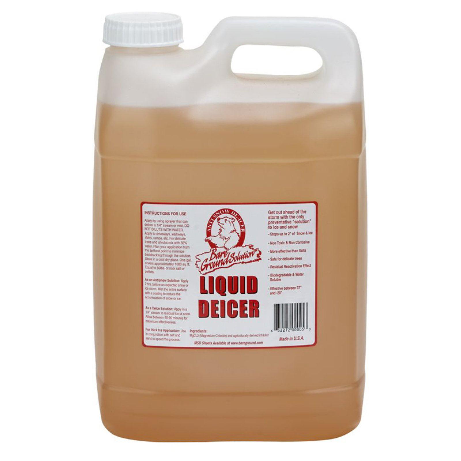 Bare Ground liquid deicer (Base UPC 0063227241111) Size 2.5 Gal