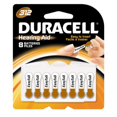 Hearing Aid Batteries,1.40 DRCDA312B8W