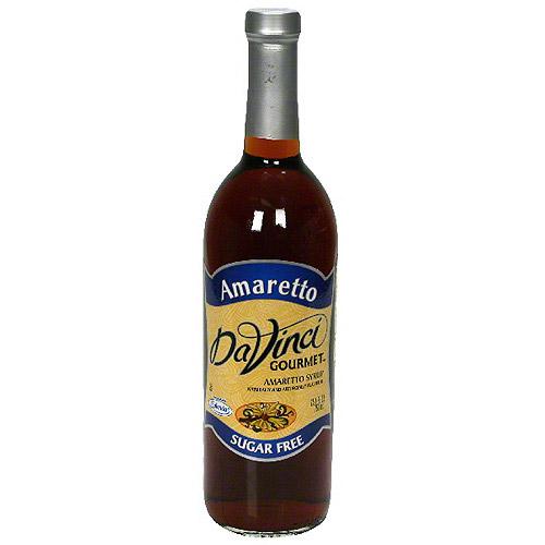 Da Vinci Gourmet Sugar Free Amaretto Syrup, 25.4 oz (Pack of 12)