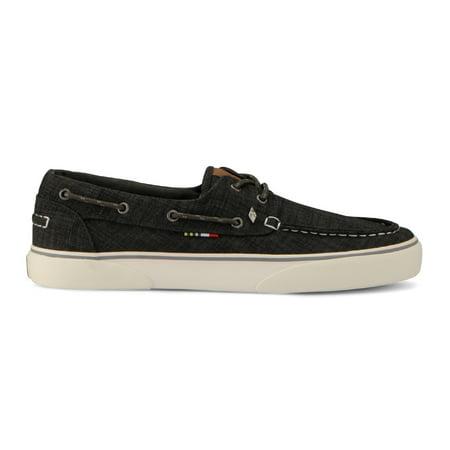 Guy Harvey Men's Gulf Linen Oxford Sneakers