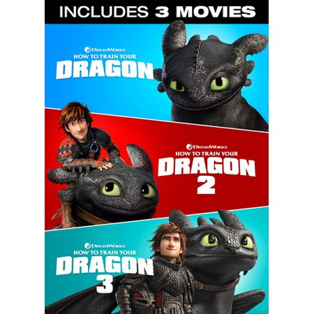 How to Train Your Dragon: 3-Movie Collection (DVD)