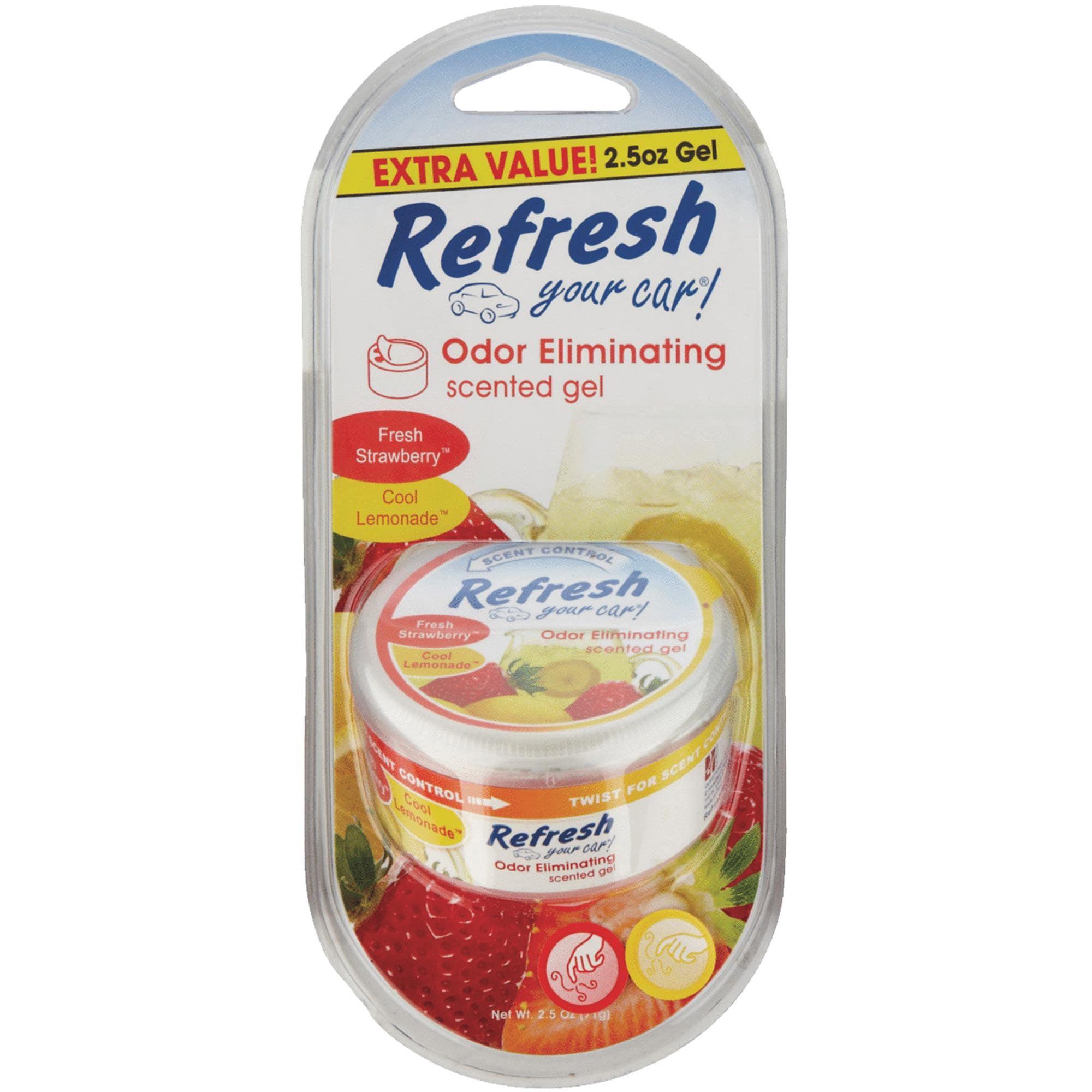 Refresh Your Car Gel Car Air Freshener