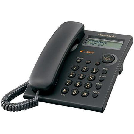 Panasonic KX-TSC11B Corded Phone with Caller ID,