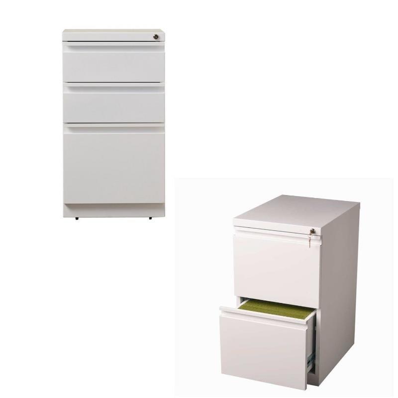 White Kitchen Cabinets Resale Value: Value Pack (Set Of 2) Drawer Mobile Filing Cabinet In