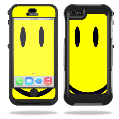 Mightyskins Protective Vinyl Skin Decal Cover for OtterBox Preserver iPhone 5 / 5S Case wrap sticker skins Smiley Face
