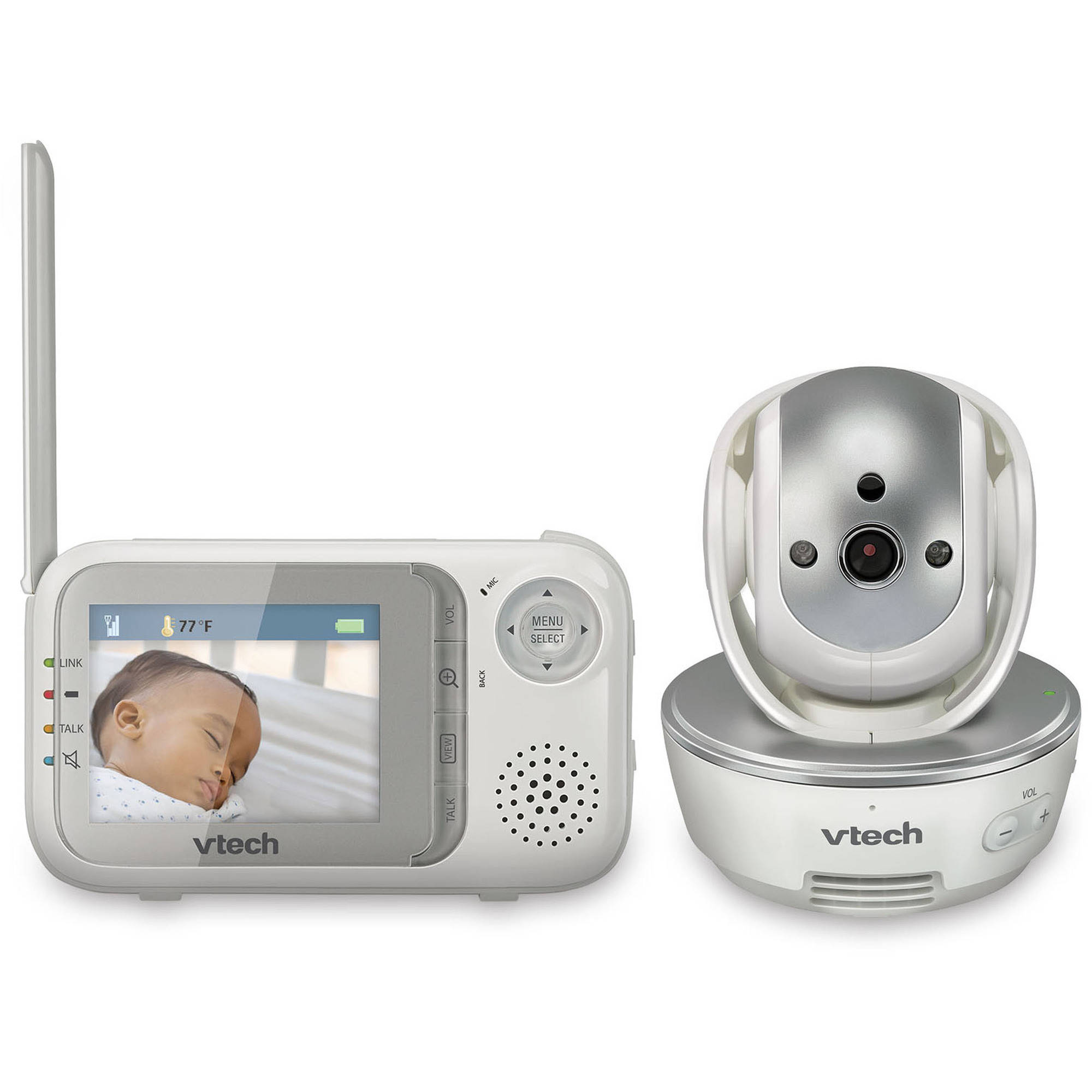 VTech VM333, Video Baby Monitor, Pan & Tilt Camera, Night Vision