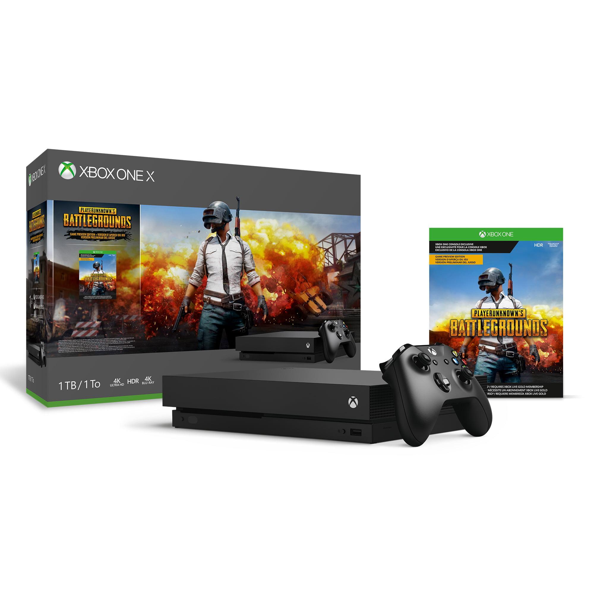 Microsoft Xbox One X PLAYERUNKNOWN'S BATTLEGROUNDS Bundle