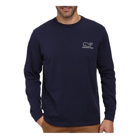 Vineyard Vines Mens Long Sleeve Graphic Packet Tee Blue Blazer  48 00